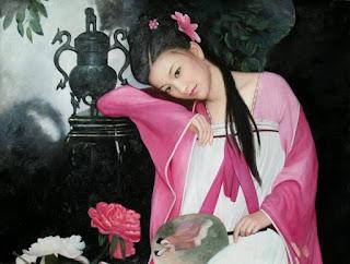 cuadros-con-chicas-pinturas-realistas