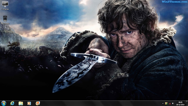The Hobbit Theme For Windows 7 8 And 10 Win2themes