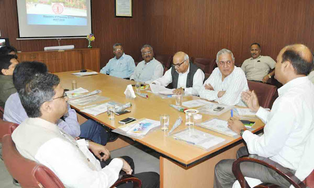 Vice Chancellor of five universities joined in the meeting of YMCA University Planning Board
