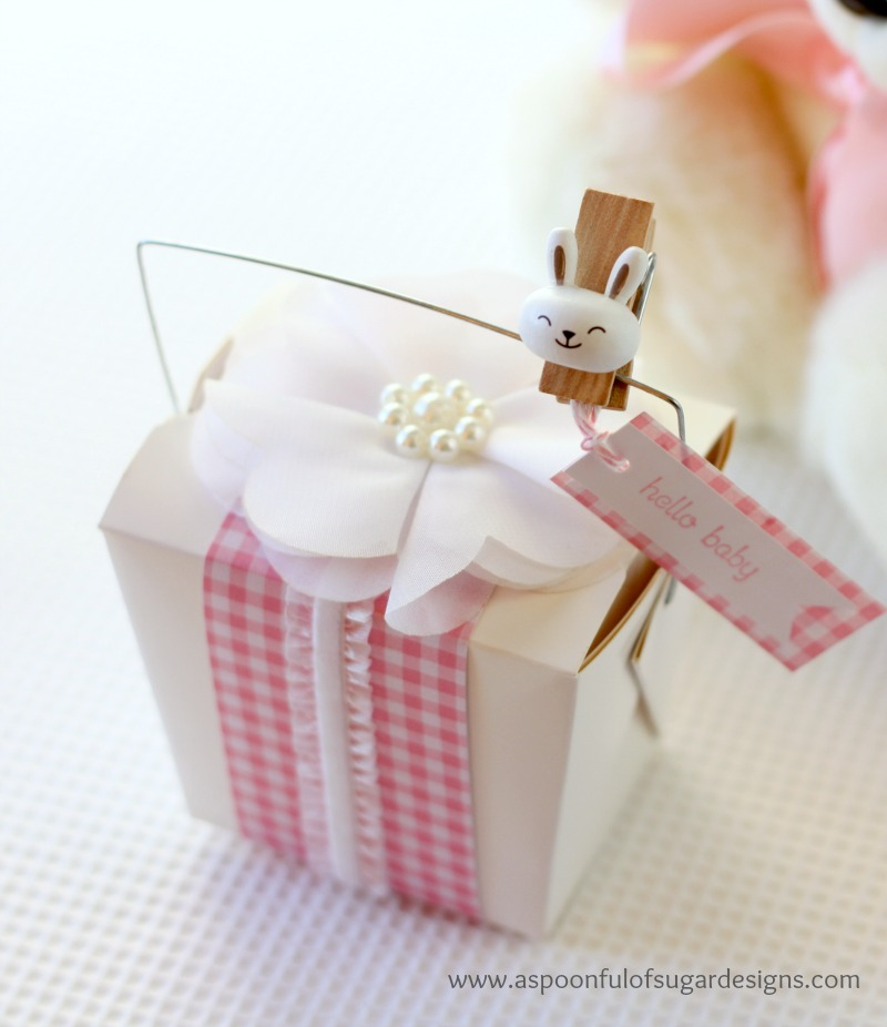 Flower Headband Gift Packaging