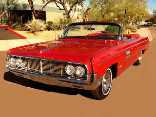 1962 Oldsmobile 98 Luxury Convertible Front Left