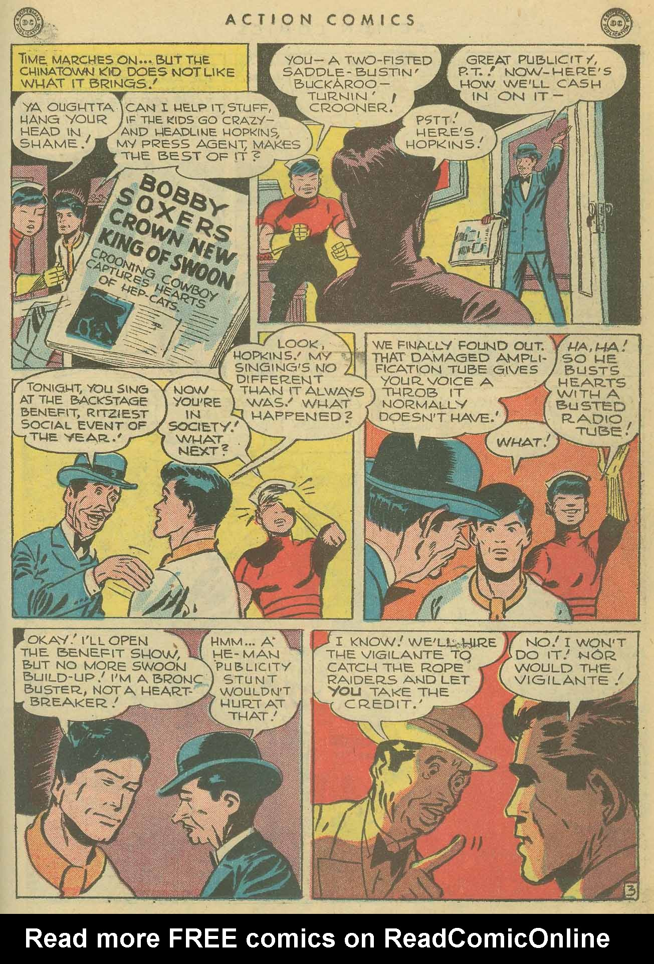 Read online Action Comics (1938) comic -  Issue #102 - 32