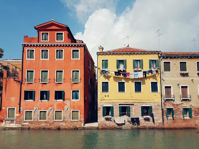 canales islas colores viajar