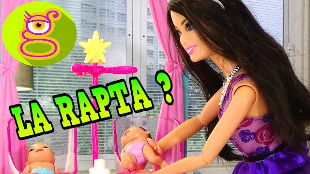 Raquel rapta a la hija de Barbie y Ken - Capítulo #13 - Juguetes Barbie en español