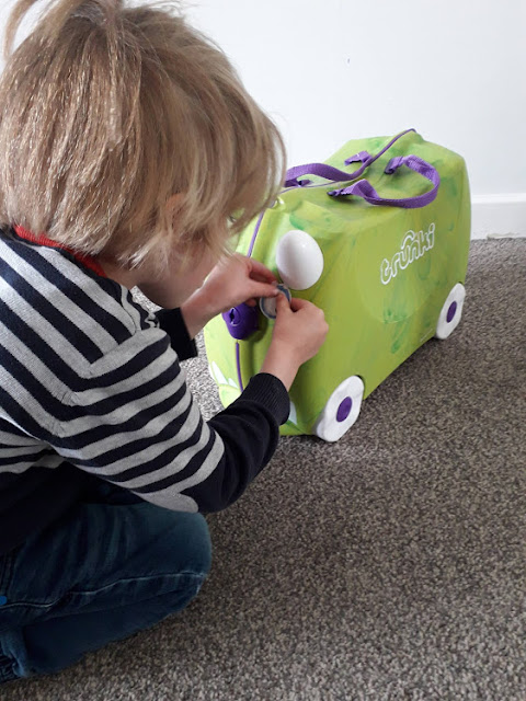Trunki, stickers