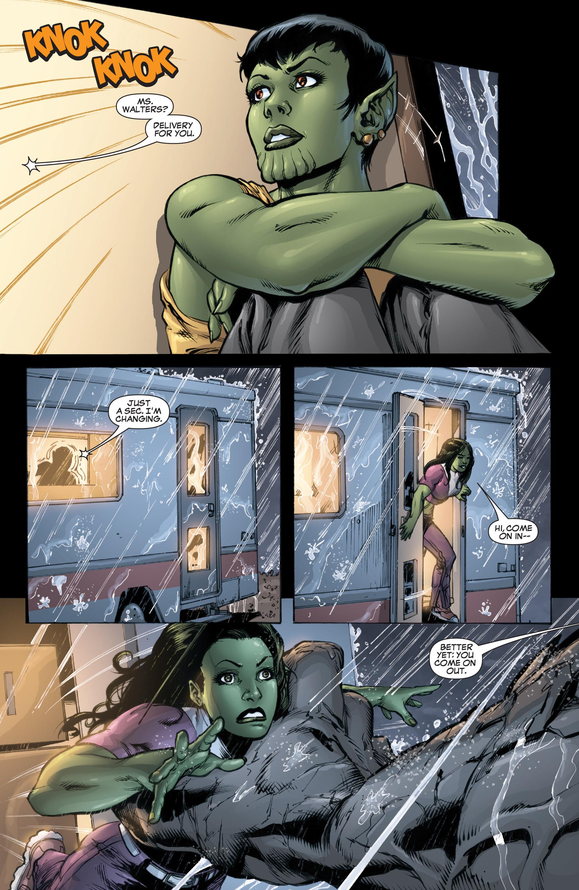 Read online She-Hulk (2005) comic -  Issue #37 - 22
