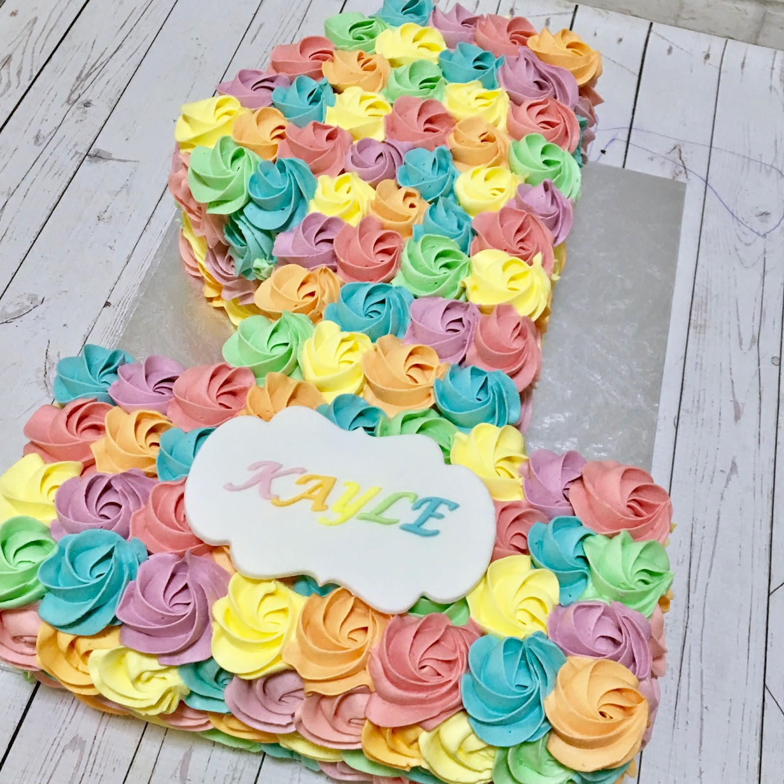 I Am So Happy That This Cake Brought Smiles Joy And Memories To Everyone Celebrating Kayles Birthday It Was Indeed A Rainbow Baby