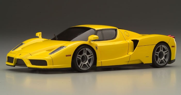 Ferrari Yellow Ferrari Enzo