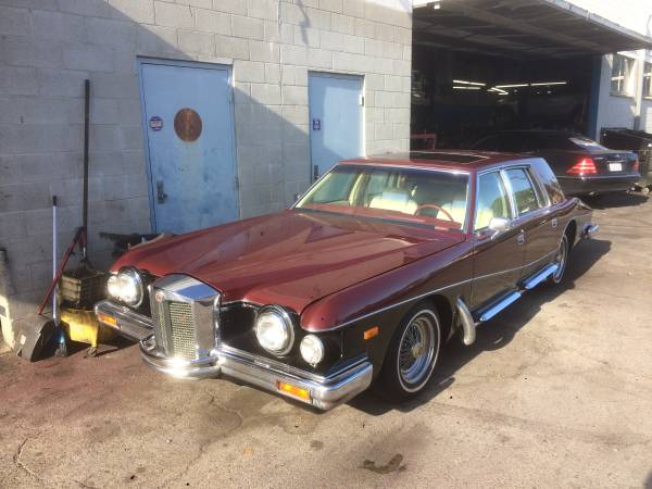 Only One in the World, 1984 Stutz Victoria Limousine