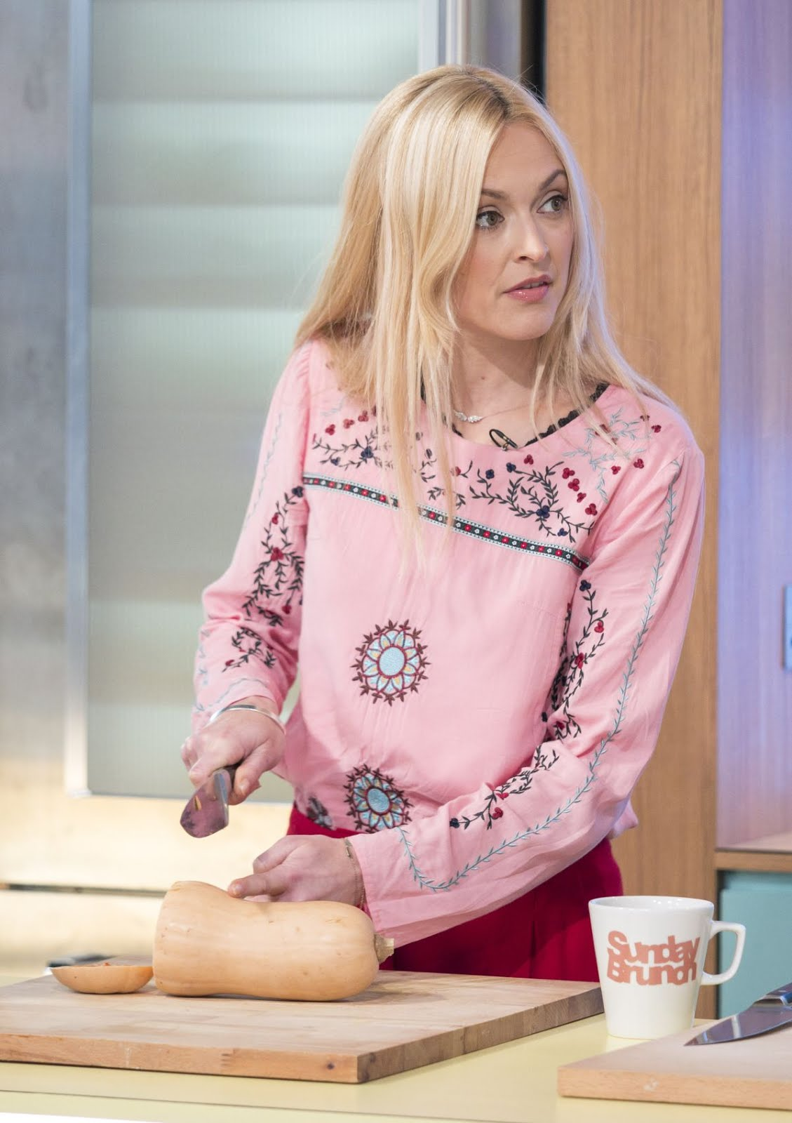 Photos of Fearne Cotton at Sunday Brunch TV Show in London