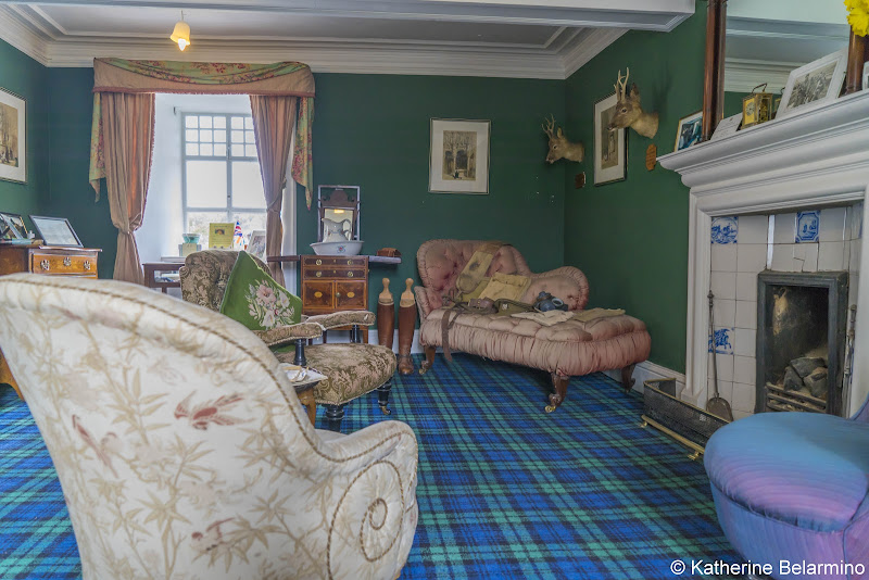 Braemar Castle Room Best Castles in Scotland for a Road Trip Itinerary
