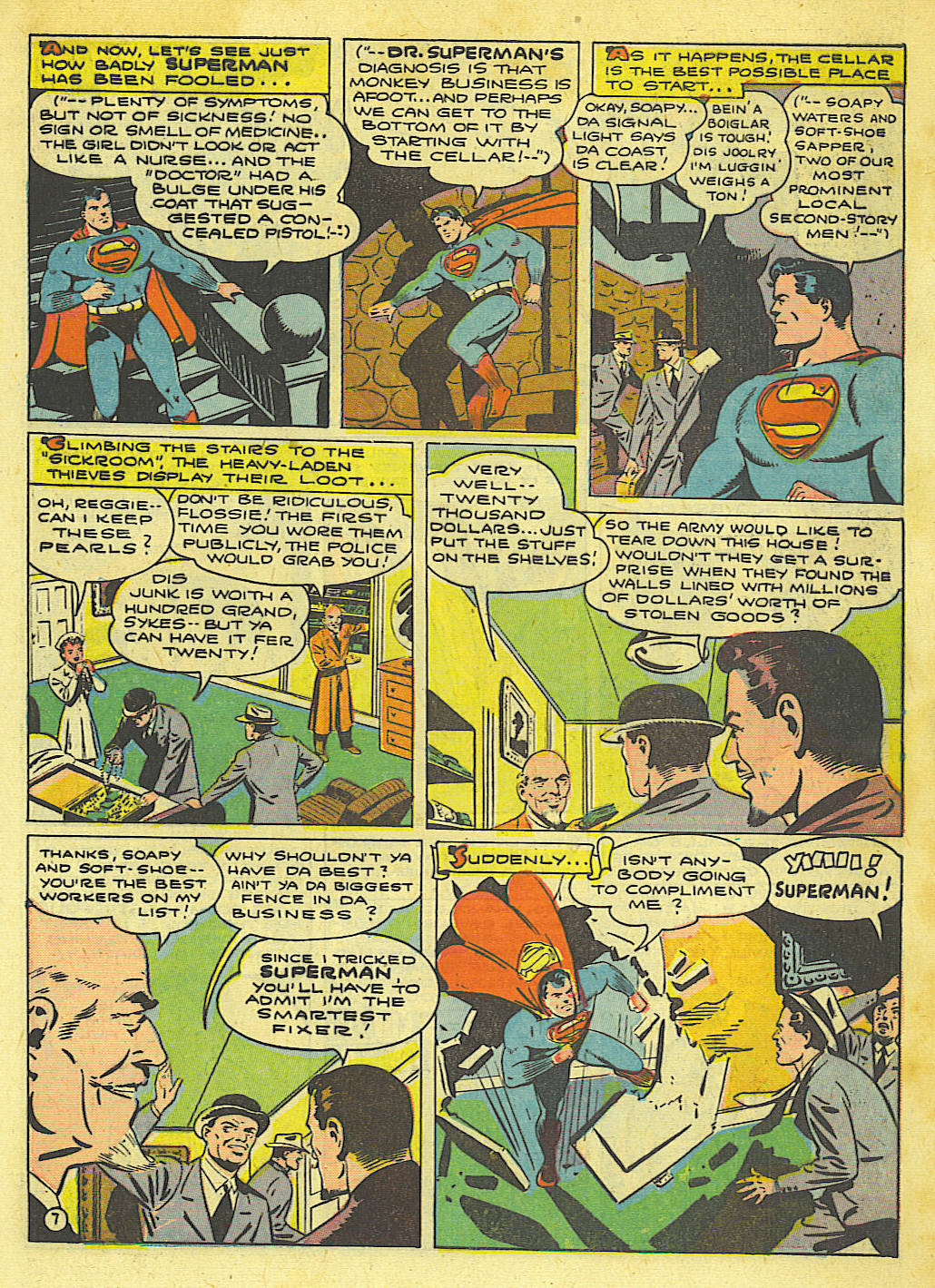 Read online Action Comics (1938) comic -  Issue #67 - 9