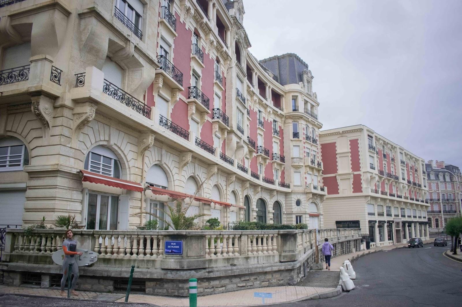 quartier impérial biarritz