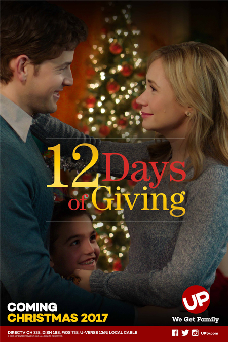 12 days of giving an up christmas movie premiere starring ashley jones david blue - Christmas Movies On Directv