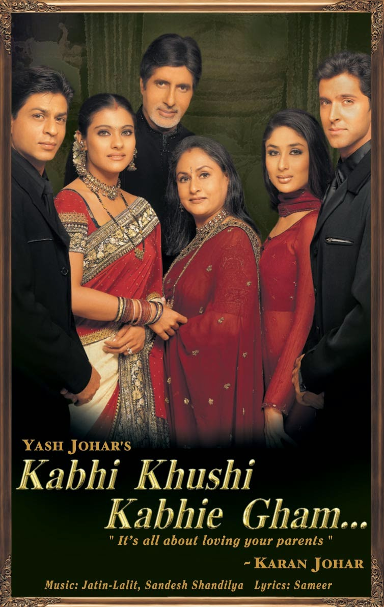 Download Films Kabhi Khushi Kabhie Gham... (2001) BRrip 720