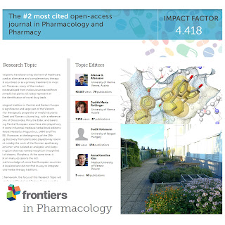 Frontiers in Pharmacology ( IF = 4.4, Q1 ) special issue image 1