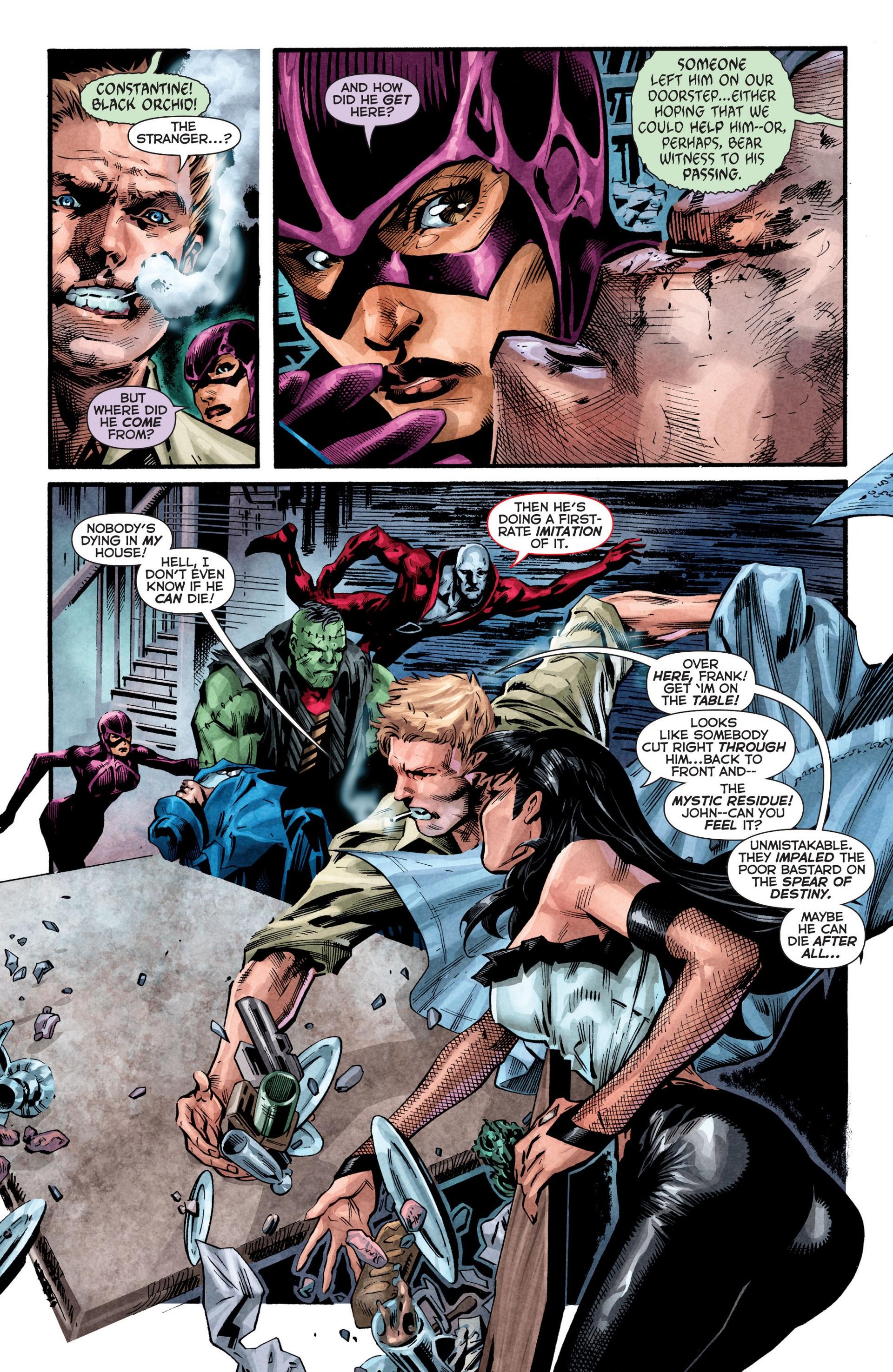 Read online Trinity of Sin: The Phantom Stranger comic -  Issue #8 - 3