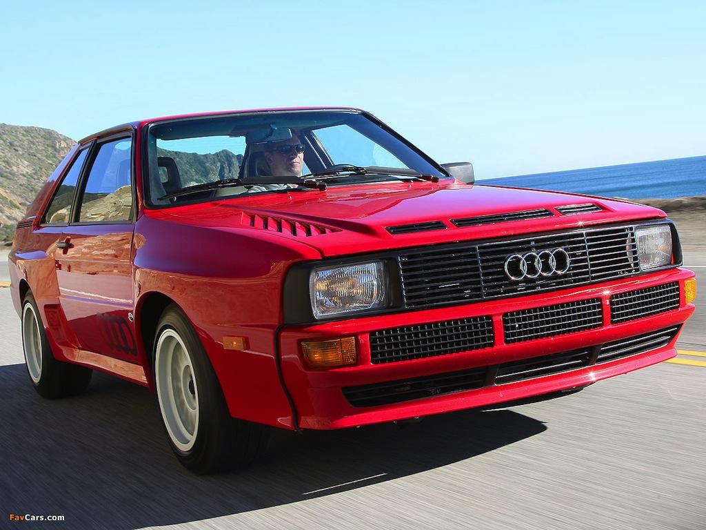 FAB WHEELS DIGEST (F.W.D.): Audi Sport Quattro (1983-84