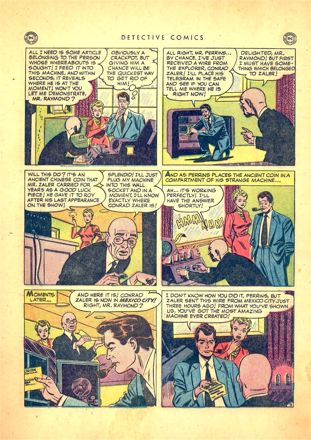 Read online Detective Comics (1937) comic -  Issue #166 - 19