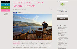 Luís Miguel Correia interview by Véronique Schaillé