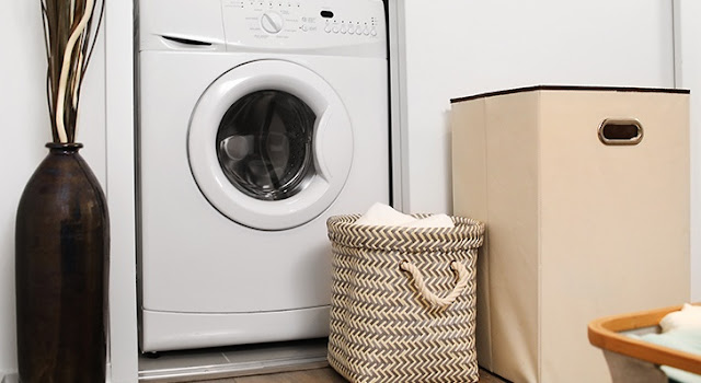 laundry room storage solutions #springorganizing