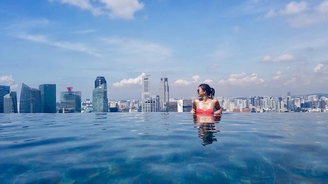 pool Marina Bay Sands Singapore,Beautiful Things To Know About Singapore Rooftop Pool