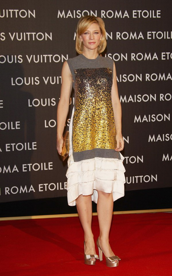 My Sweet Days Cate Blanchett Wearing The Lv 2012 New At