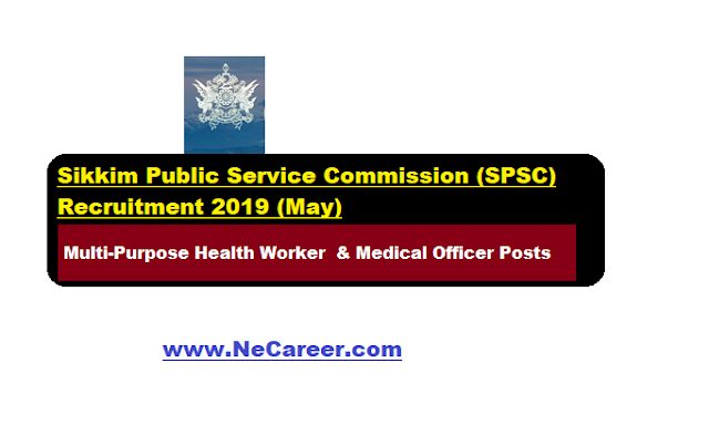 sikkim public service commission vacancy , recruitment, jobs 2019 May