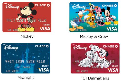 Relentless Financial Improvement: Chase and Disney Visa Debit Card