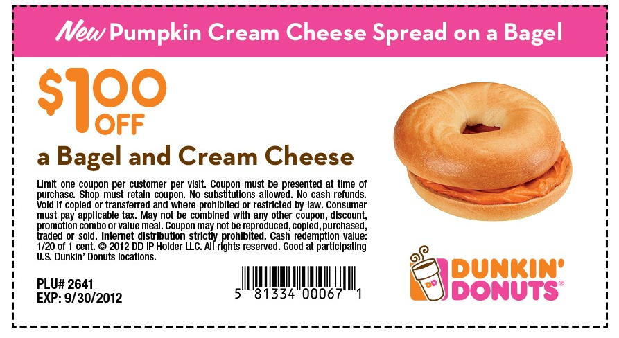 graphic relating to Dunkin Donuts Printable Application titled Dunkin Donuts Printable Discount coupons