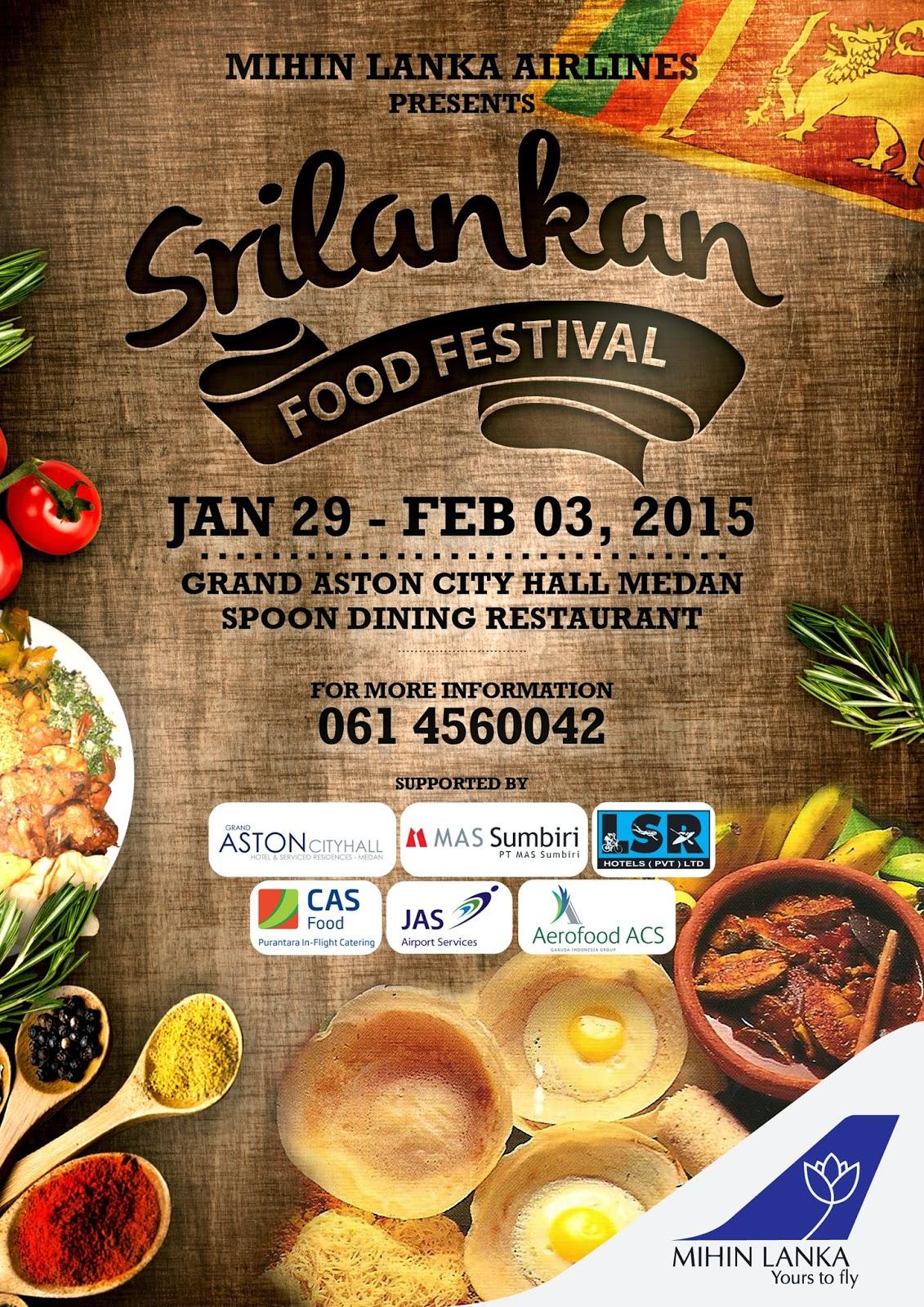 Sri Lankan Food Festival di Medan