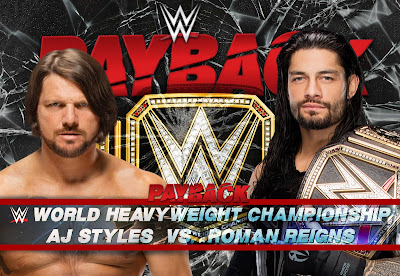 WWE Payback 2016 Matches Prediction