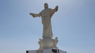Statua di Cristo ad Artenarana
