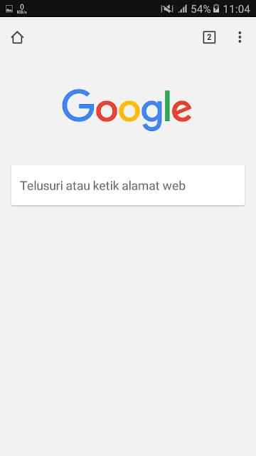 Rekomendasi artikel pada halaman utama Google Chrome sudah hilang