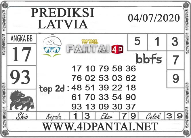 PREDIKSI TOGEL LATVIA PANTAI4D 04 JULI 2020
