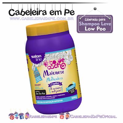 Maionese Matizadora - Salon Line (Liberada para Low Poo)