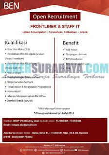 Lowongan Kerja di PT. GOS Indonesia Surabaya Terbaru Mei 2019