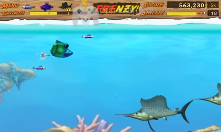 تحميل لعبة السمكة 2 Feeding Frenzy بدون تسطيب