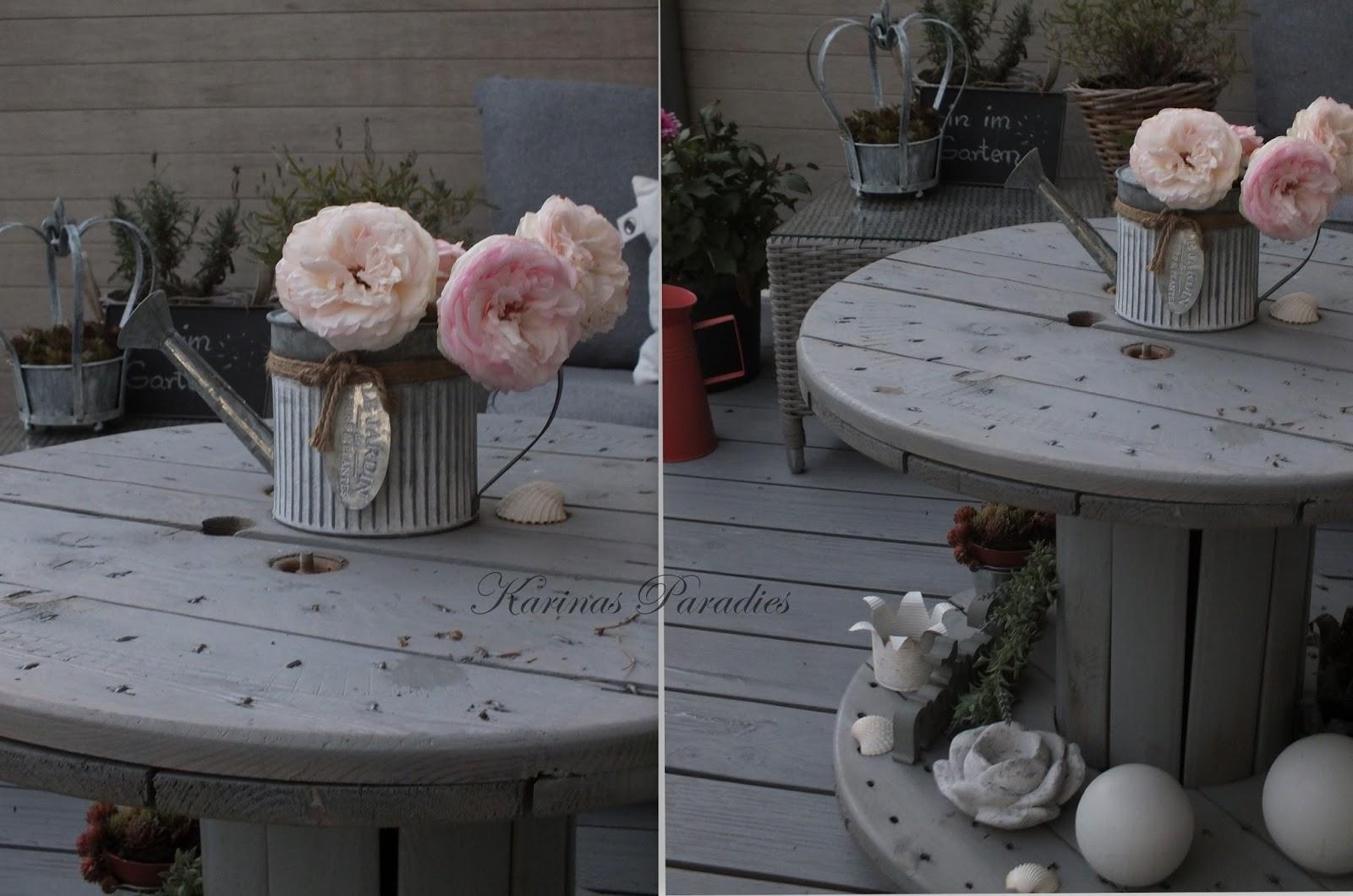 karinas paradies diy pflanztisch aus paletten und. Black Bedroom Furniture Sets. Home Design Ideas