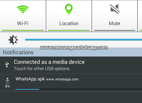 Descarga WhatsApp para instalar en la tablet