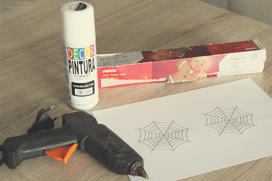 Posavasos para halloween - Materiales