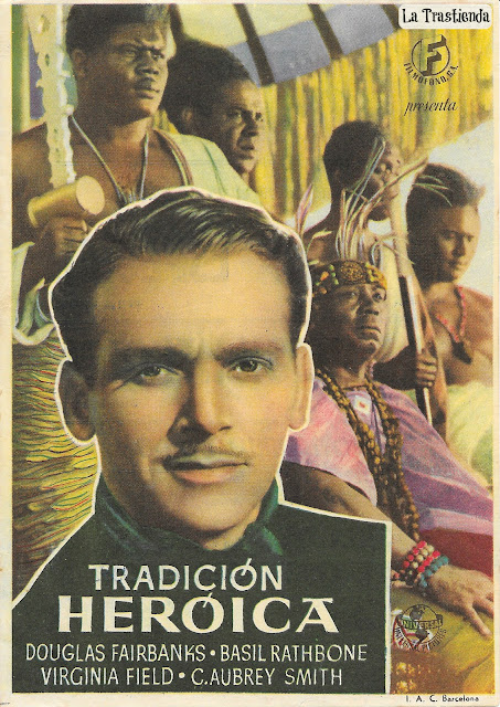Programa de Cine - Tradición Heróica - Douglas Fairbanks Jr. - Basil Rathbone