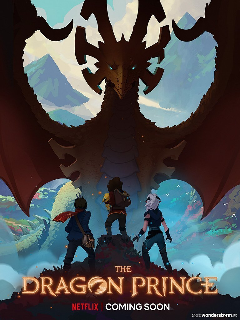 The Dragon Prince S02 Complete Dual Audio 720p NF HDRip HEVC [Hindi + English]
