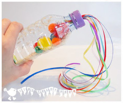 http://kidscraftroom.com/rainbow-sensory-play-bottles-and-homemade-musical-instruments/