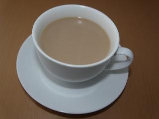 chá com leite como fazer