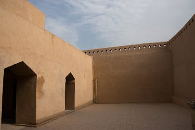 Courtyard in the Imin Minaret, Turpan, Xinjiang