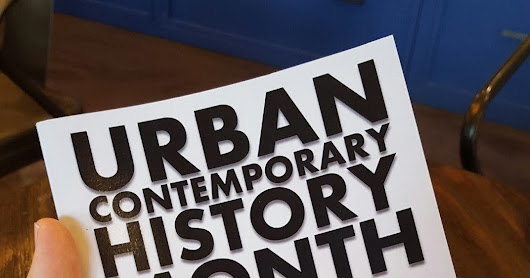Currently Reading: new Scott Woods book Urban Contemporary History Month