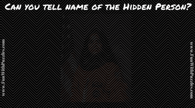 This Picture Puzzle contains a hidden picture of very well know personality which you need to identify and name.