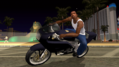 Tampilan Game GTA (Grand Theft Auto) San Andreas Android