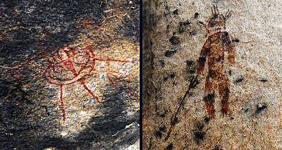 Aliens and UFOs Found In 10,000-Year-Old Rock Paintings